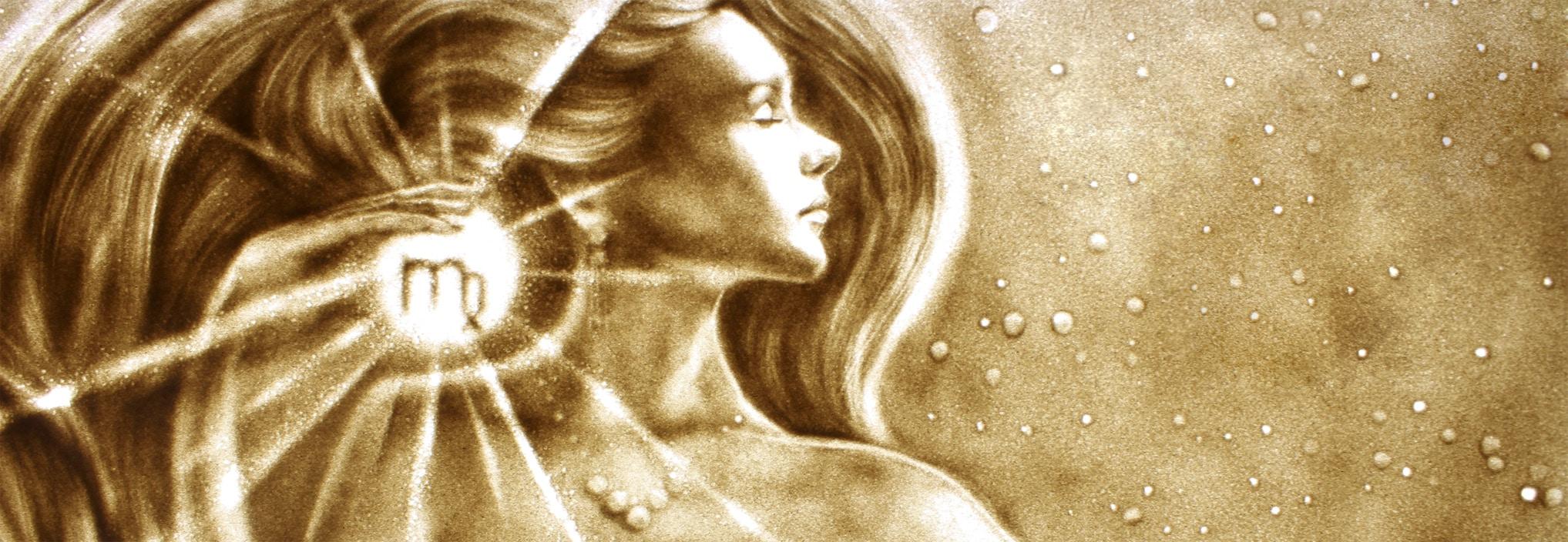 Sandmalerei shows